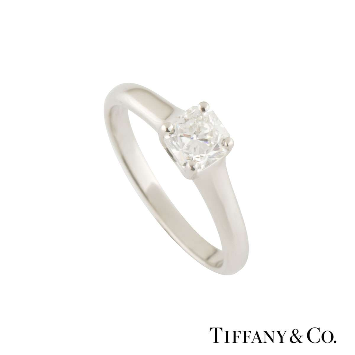 Tiffany & Co. Lucida Diamond Ring 0.79ct H/VVS1